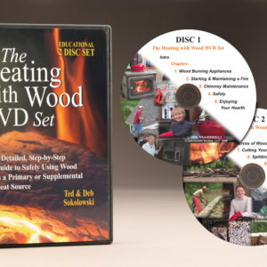 How to safely heat with wood